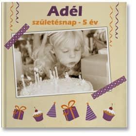 fotókönyv - születésnapi